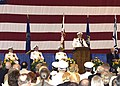 US Navy 030813-N-4294K-010 Rear Adm. Stephen A. Turrcotte addresses the audience as he takes command of Navy Region, Mid-Atlantic during the Change of Command ceremony.jpg