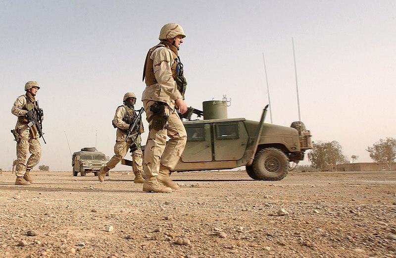 is vernietigd beelden in irak