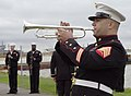 US Navy 051012-N-8720O-033 U.S. Marine Corps Sgt. Daniel Hersey, a trumpet player from the Armed Forces School of Music, plays Taps.jpg