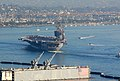 US Navy 070930-N-9760Z-021 Nuclear-powered aircraft carrier USS Nimitz (CVN 68) steams past Point Loma into San Diego Bay.jpg