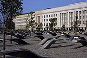 September 11 memorial at the Pentagon