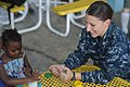 US Navy 100729-N-9964S-004 Intelligence Specialist 3rd Class Michelle Allmond, embarked aboard the multi-purpose amphibious assault ship USS Iwo Jima (LHD 7).jpg
