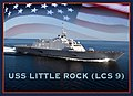 US Navy 111006-N-DX698-001 An artist rendering of the littoral combat ship USS Little Rock (LCS 9).jpg