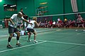 US Senior International Badminton Tourney (Miami) - MX 60 Final - Ian & Sanne def Curt & Susan 21-16, 11-21 & 21-9 (16623866716).jpg