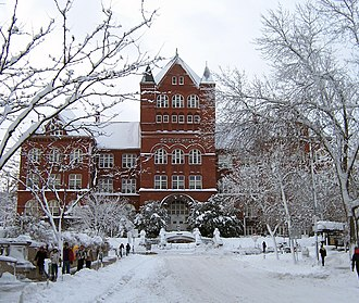 University of Wisconsin Science Hall - Image: UW–Madison Science in Winter, 2009