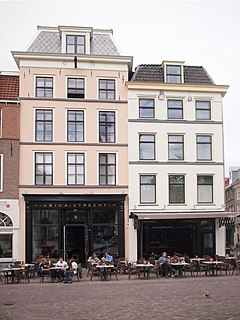 Ubica Hotel and former squat in Utrecht