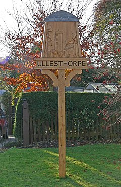 Ullesthorpe village sign - geograph.org.uk - 626039.jpg