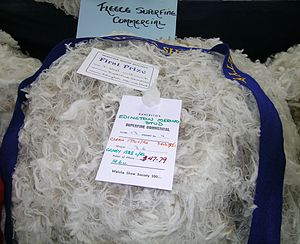 Wool measurement - An ultra-fine, 14.6 micron Merino fleece.