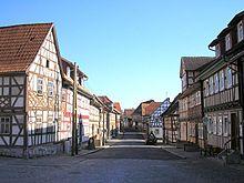 Fachwerkbauten säumen die Straßen von Ummerstadt