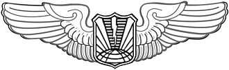 Badges of the United States Air Force - Image: United States Air Force Unmanned Aircraft Operator Badge