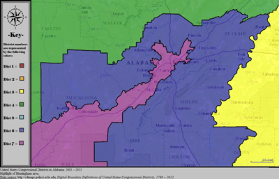 Alabama's congressional districts - Wikipedia