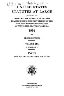 United States Statutes at Large Volume 105 Part 3.djvu
