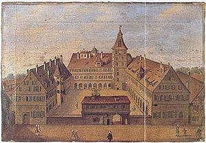 University of Altdorf - The University of Altdorf in 1714