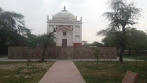 Tombs of Battashewala Complex - Unnamed Mughal tomb after renovation