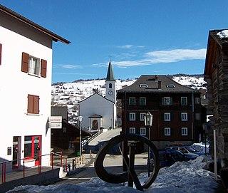 Unterbäch Municipality in Switzerland in Valais