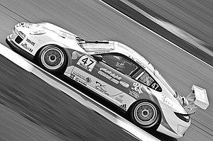 Redline Racing - Oman Air sponsored Porsche 997 GT3 Cup of Redline Racing competing in the 2012 Porsche Supercup season