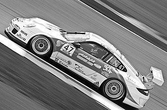 Redline Racing - Oman Air sponsored Porsche 997 GT3 Cup of Redline Racing competing in the 2012 Porsche Supercup season