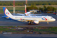 VQ-BCY - A320 - Ural Airlines