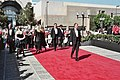 Us arriving on the red carpet (2081512245).jpg