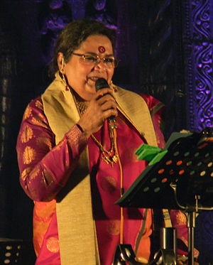 Usha Uthup - Usha Uthup at Toshali National Crafts Mela, Bhubaneswar, Odisha, 2012