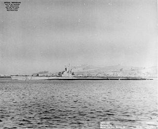 USS <i>Bumper</i> (SS-333) Balao-class submarine