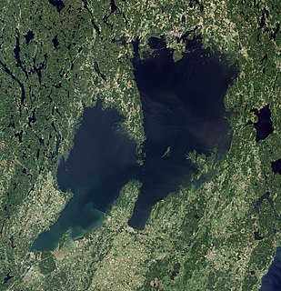 Vänern largest lake in Sweden