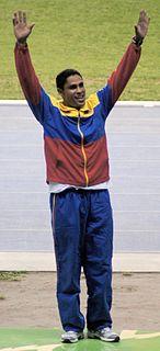 Víctor Castillo Venezuelan long jumper
