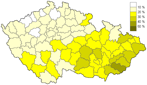Věřící - sčítání 2011