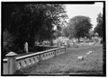 VIEW OF SECTION F, LOOKING WEST - Woodlands Cemetery, 4000 Woodlands Avenue, Philadelphia, Philadelphia County, PA HALS PA-5-22.tif
