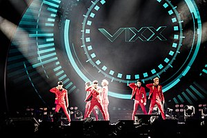VIXX - VIXX performing at the KKBOX Music Awards in Taipei, Taiwan (2015)