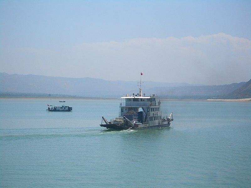 VM 6023 Liujiaxia Reservoir Ferry.jpg