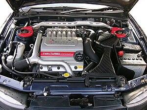 Mitsubishi 6A1 engine - Image: VR4 6A13TTengine