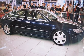 International Motor Show Germany - Volkswagen Concept D at the 1999 Frankfurt Motor Show