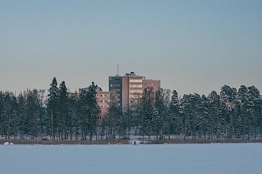 Vaasa central hospital winter 2019