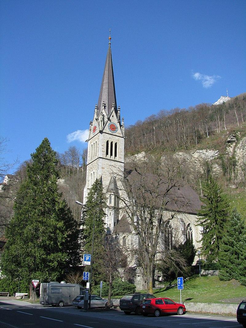 katedra w Vaduz