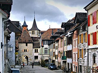 Valangin - Valangin old city
