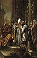 Valdes leal-san ambrosio y el emperador teodosio-prado2.jpg