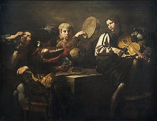 Musicians and soldiers