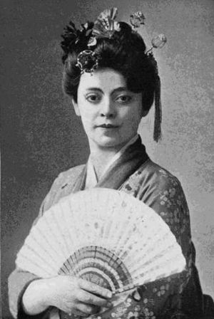 Madame Butterfly (play) - Valerie Bergere as Cho Cho San (ca. 1902).