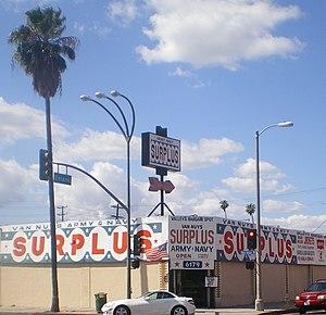 Surplus store - Image: Van Nuys Surplus