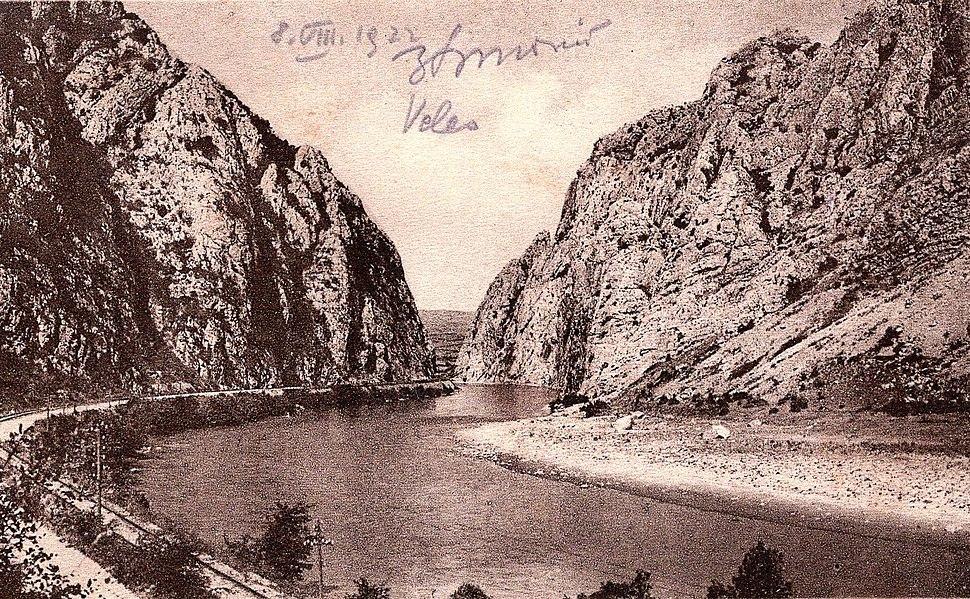 Vardar kaj Veles, 1922