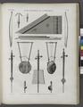 Vases, meubles et instrumens. Instrumens à corde qui paroissent propres aux égyptiens (NYPL b14212718-1268861).tiff