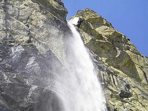 Vasudhara Falls - Vasudhara Falls, Uttarakhand
