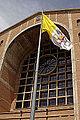 Vatican flag - north facade - Basílica de Aparecida - Aparecida 2014.jpg
