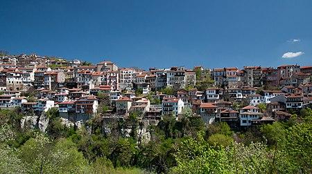 Varosha quarter of Veliko Tarnovo