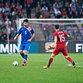 Veoran Corluka - Croatia vs. Portugal, 10th June 2013-2.jpg
