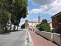 Via Calzolai e Chiesa di San Marco Evangelista (Francolino, Ferrara) 01.JPG