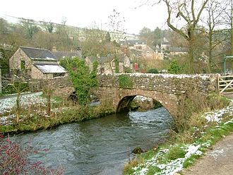 Izaak Walton - Viator's bridge near Milldale (Peak District) is named for its reference in The Compleat Angler
