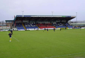 Das Global Energy Stadium in Dingwall