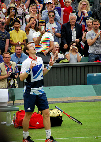 Big Four (tennis) - Andy Murray won the Olympic Gold Medal in 2012, defeating Roger Federer in the final.